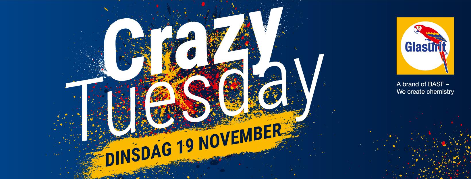 19 november Crazy Tuesday