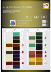 Tönposter und -hilfen: Ratio Color System Multieffekt | Glasurit
