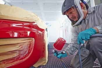 Automotive Paint Mixing Room Tag