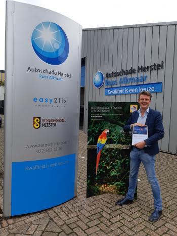 Eerste certificaat Glasurit Eco Balance